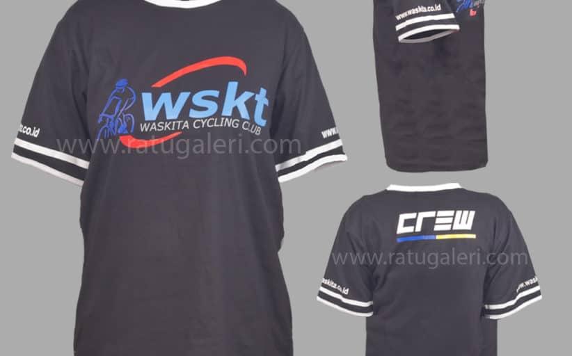 Hasil Produksi Dan Desain Kaos Cotton Combad PT. Waskita