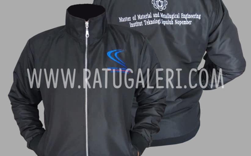 Hasil Produksi Dan Desain Jaket Taslan Jaring Master Of Material And Metallurgical Engineering ITS
