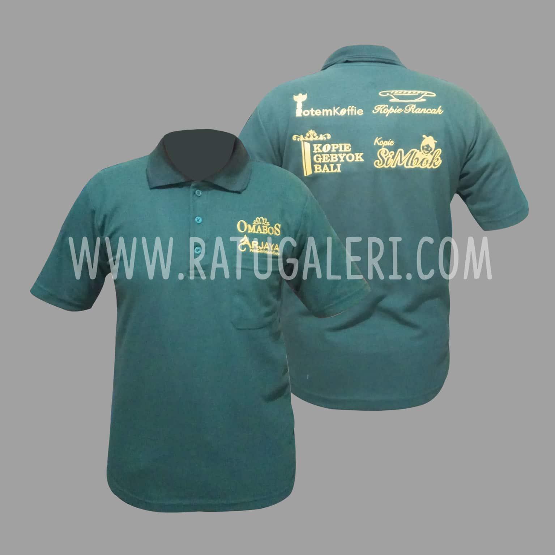 Hasil Produksi Poloshirt Restoran