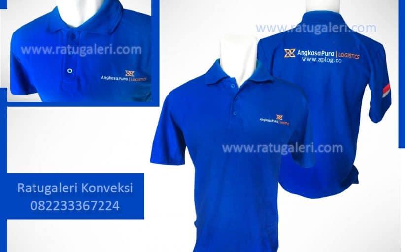 Hasil Produksi dan Desain Poloshirt Lacoste C, AngkasaPura.