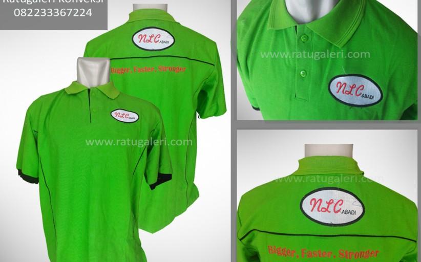 Hasil Produksi dan Desain Poloshirt, NLC ABADI.