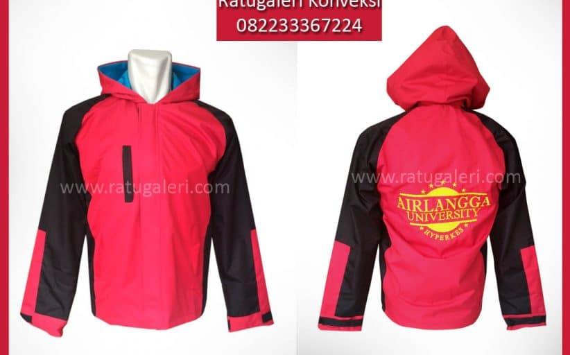 Hasil Produksi dan Desain Jaket Micro Dua Sisi, Airlangga.