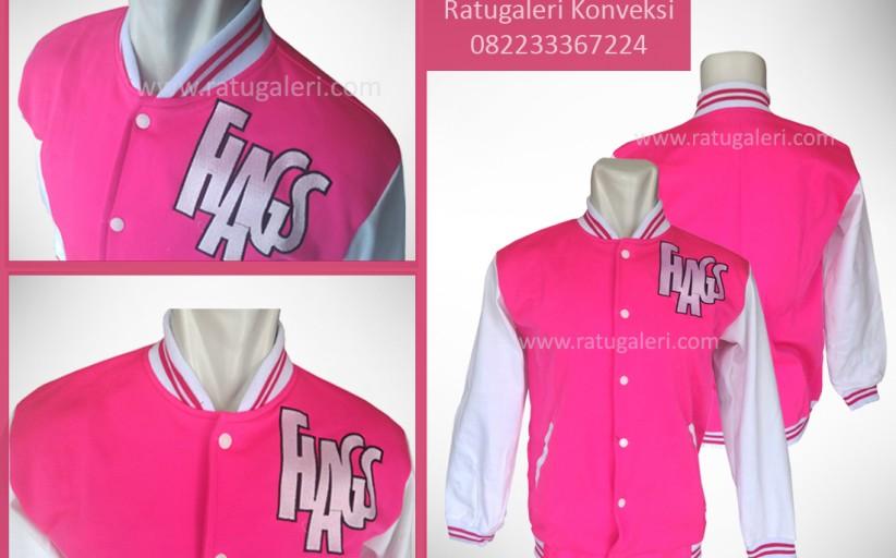 Hasil Produksi dan Desain Jaket Fleece, Hags.