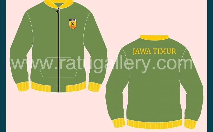 Hasil Produksi Jaket Forki Jawa Timur