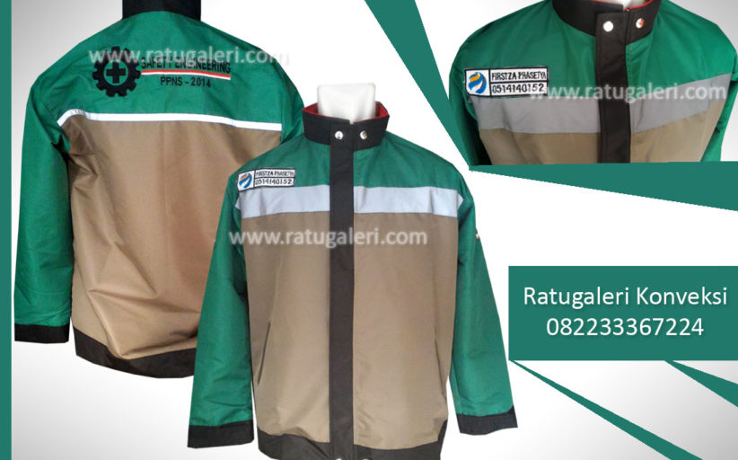 Hasil Produksi dan Desain Jaket wearpack, Safety Engineering.