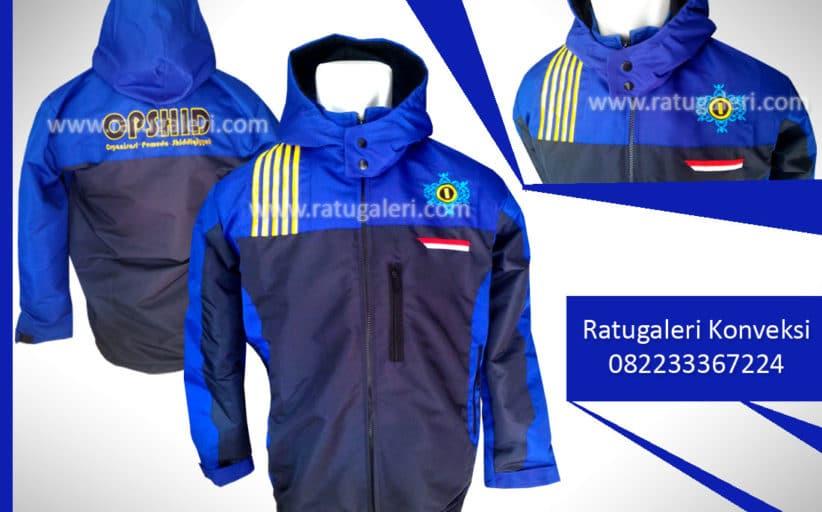 Hasil Produksi dan Desain Jaket Taslan, Ophsid.
