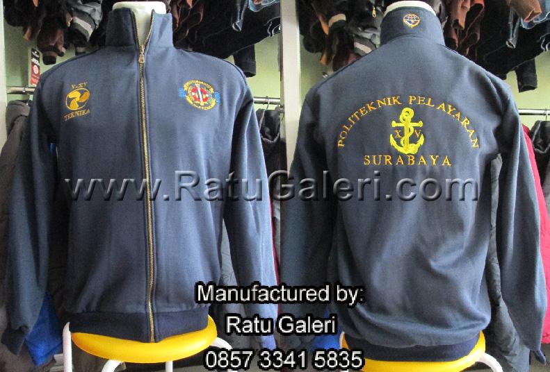 Jaket Politeknik Pelayaran Surabaya (Bordir Komputer)