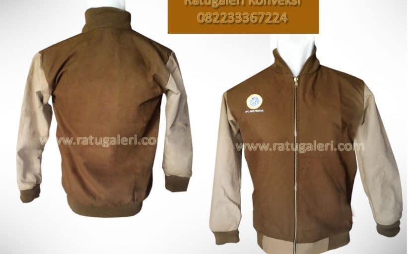 Hasil Produksi Jaket Kanvas, Unair Surabaya.