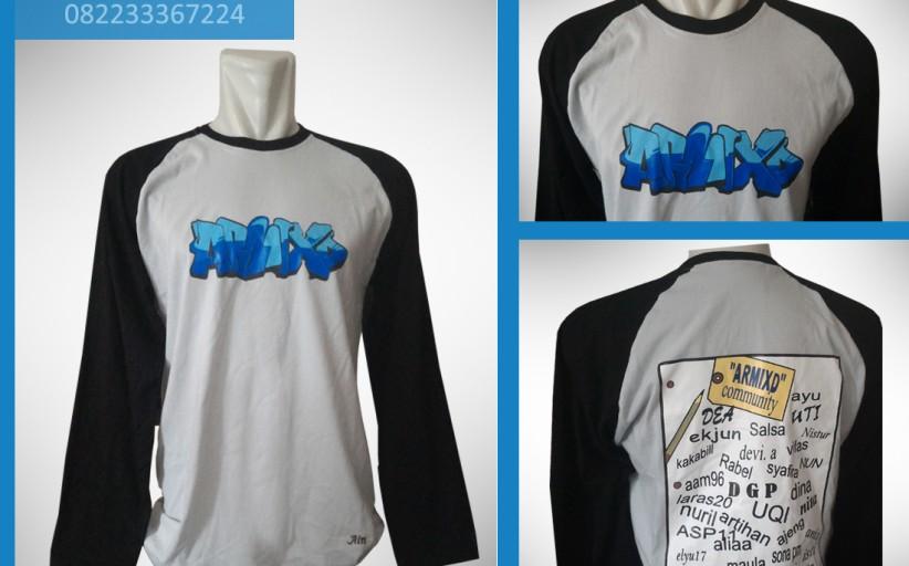Hasil Produksi dan Desain Kaos Combad 20's, ARMIXD.