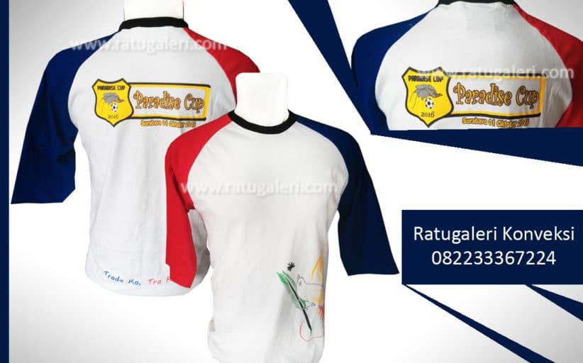 Hasil Produksi dan Desain Kaos Sablon, Paradise Cup.