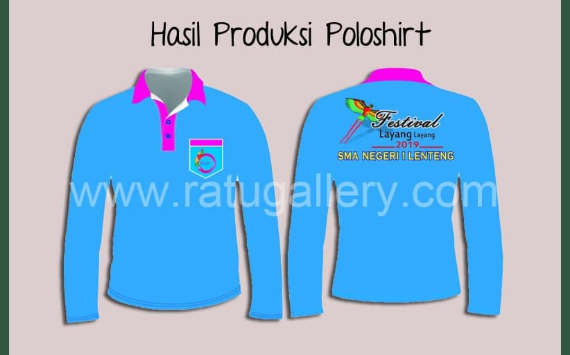 Hasil Produksi Poloshirt Lacoste