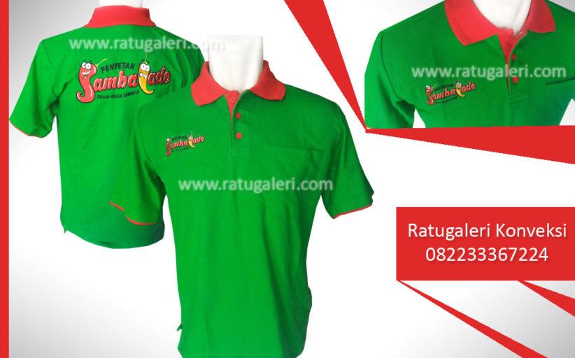 Hasil Produksi dan Desain Poloshirt, Sambalado.