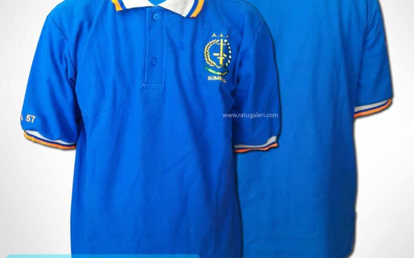 Hasil Produksi Dan Desain Poloshirt Satya Adi Sumbawa