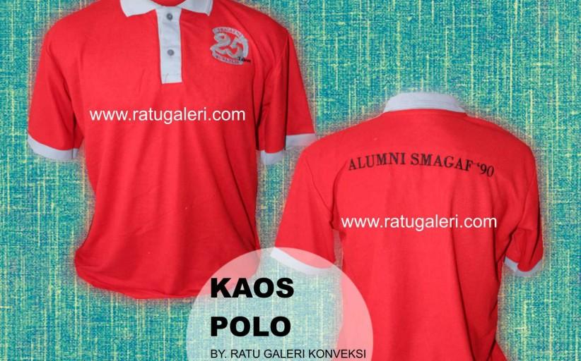 Contoh Desain Kaos Polo SMAGAF 09