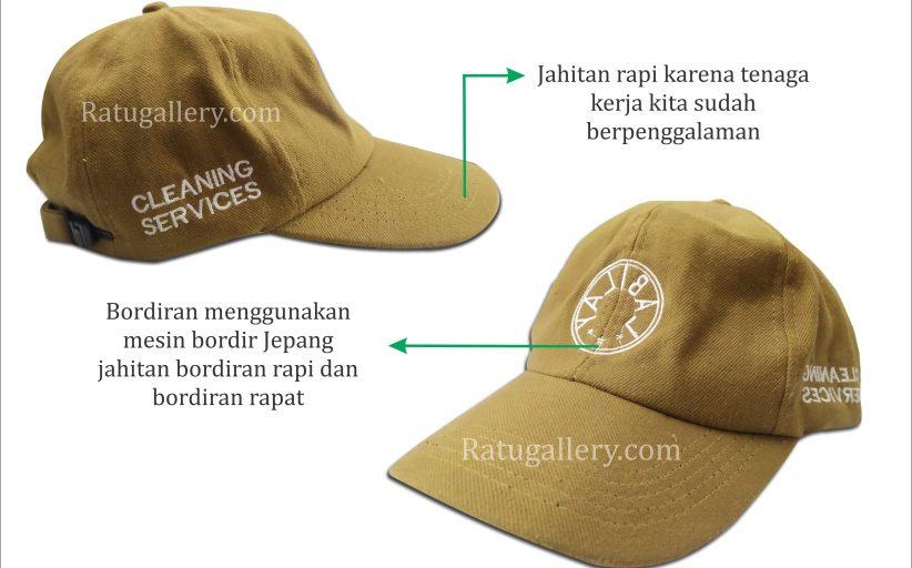 Hasil Konveksi Topi Labilay Custom