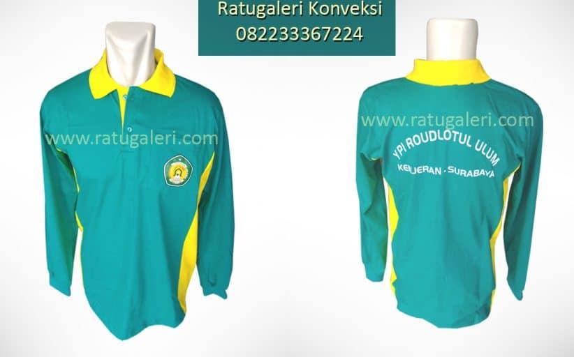 Hasil Produksi dan Desain Kaos olahraga combed, Raudlotul Ulum