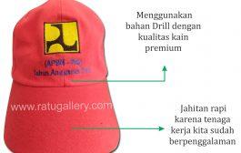 Hasil Produksi Topi APBN Bahan Drill