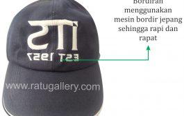 Hasil Produksi Topi ITS Bahan Raphel Daimaru