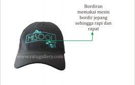 Hasil Produksi Topi Misool Bahan Drill