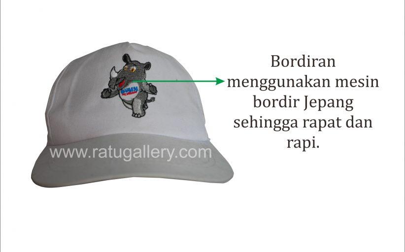 Hasil Konveksi Topi Badak Custom