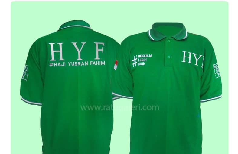 Hasil Produksi Dan Desain Poloshirt Lacoste SemiCotton  HYF